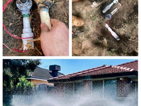 Irrigation Repairs in Perth