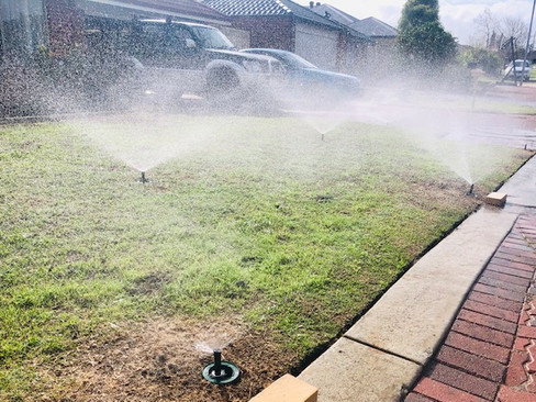 Reticulation Sprinklers Perth