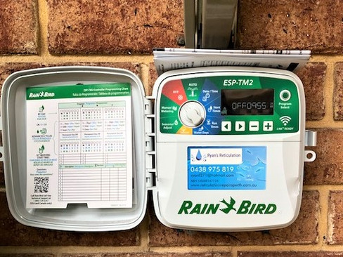 Reticulation Controllers Perth