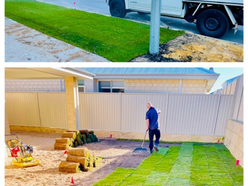 Lawn and Reticulation Installation in Perth