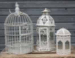 Birdcage and sm metal lanterns.jpg