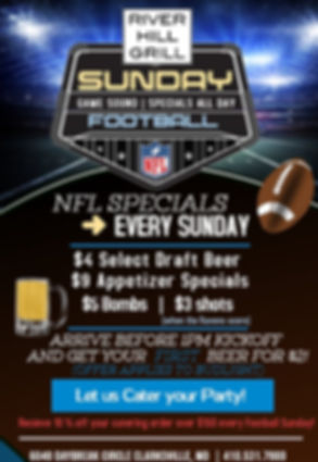 Copy of american football flyer template
