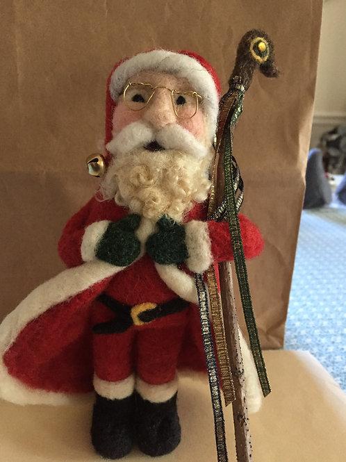 Santa with Staff