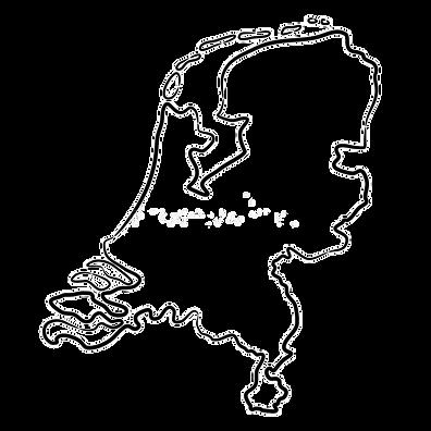 de-kaart-van-nederland-contourzwarte-bor