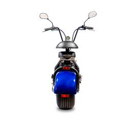 Elektrische-scooter-achter-blauw