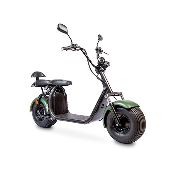 Elektrische-scooter-schuin-mat-groen
