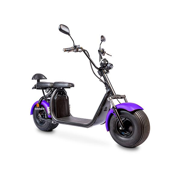 Elektrische-scooter-schuin-paars