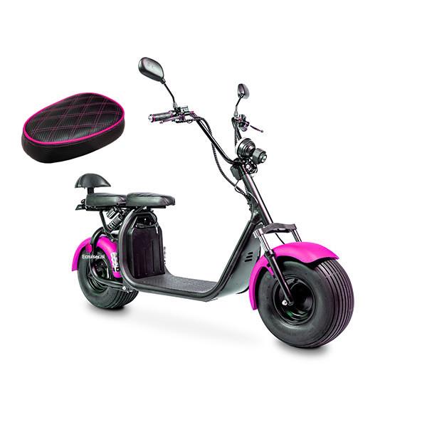 Elektrische-scooter-schuin-rozeenzadel