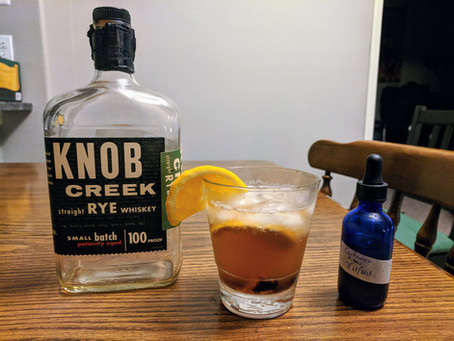 Old Fashioned With Cardamom Bitters