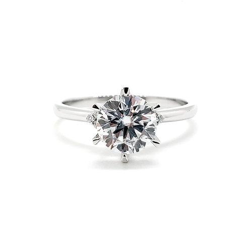 18K戒指碎鑽托