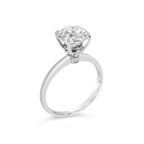 Moissanite ring 2cts