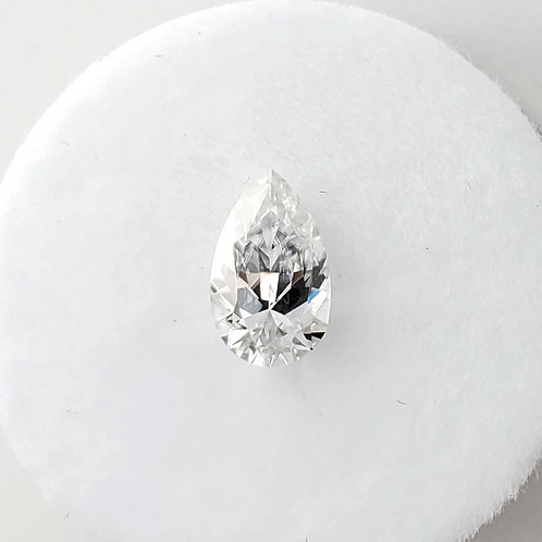 Pear-shaped Moissanite (1 to 3 cts)