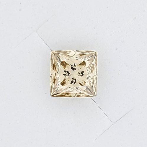 黃色公主方莫桑石(2.5卡)
