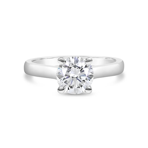 Moissanite Ring 1ct