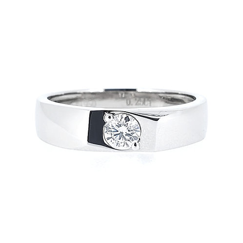 Moissanite men's ring 0.25ct