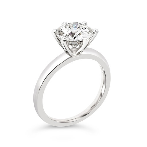 Moissanite ring 1.5cts