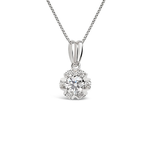 Moissanite Necklace (0.8ct)
