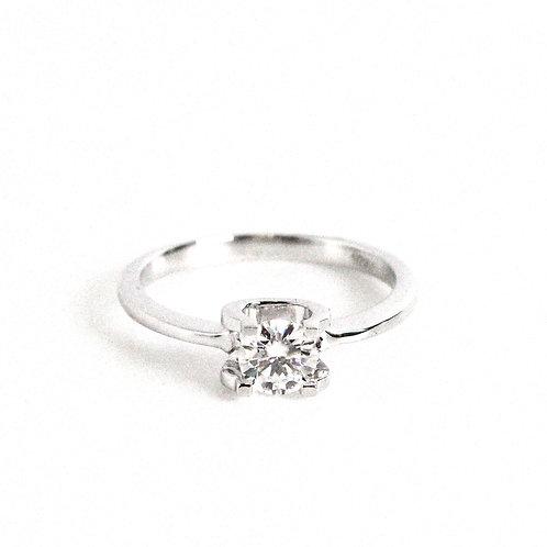 莫桑石戒指 (0.5卡)