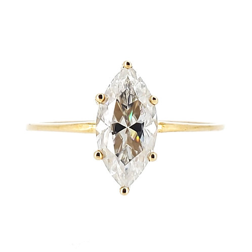 Marquise Moissanite Ring 1.2cts
