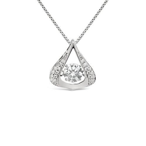 Moissanite Necklace 0.6ctw