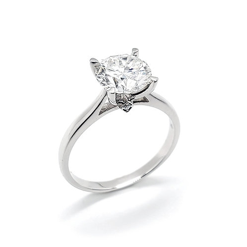 Moissanite Ring 1.2cts