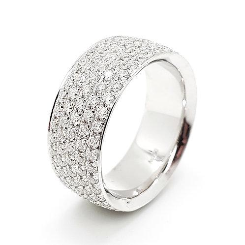 Moissanite Ring 3.8ctw