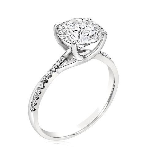 Moissanite ring 1.6ctw