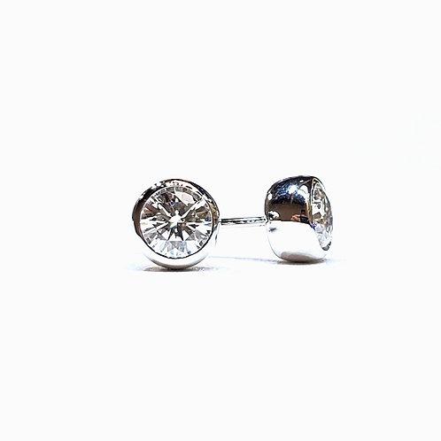 Moissanite Earrings 1ctw