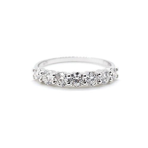 Moissanite Ring 0.5ctw