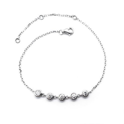 Moissanite bracelet 0.5ctw