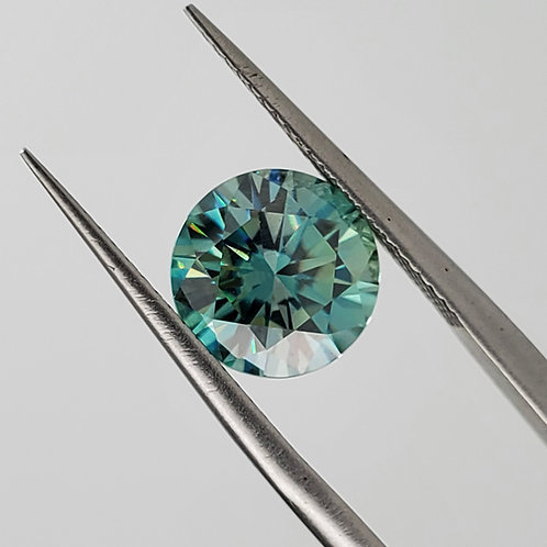 Blue Moissanite 2cts
