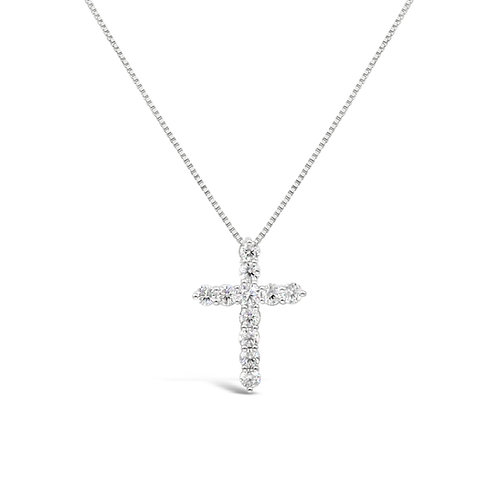 Moissanite Necklace (1.1cts)
