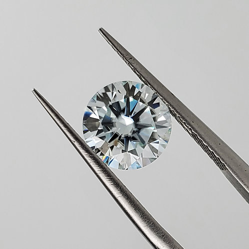 Blue Moissanite 1.5cts