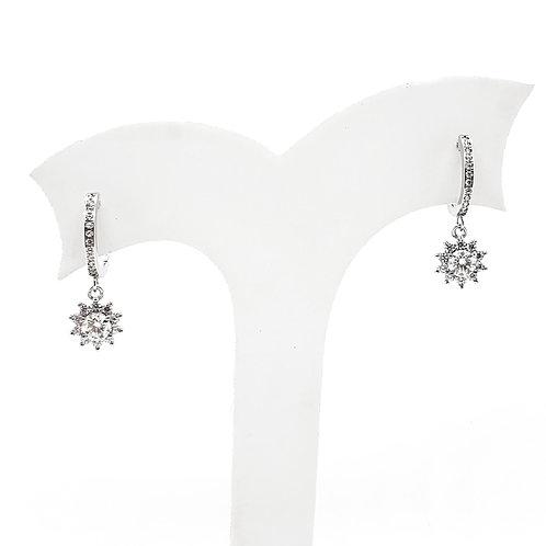 Moissanite earrings (1.3ctw)