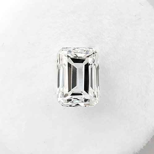 Emerald-shaped Moissanite (1 to 3 cts)