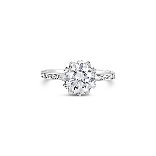 Moissanite Ring 1.1ctw