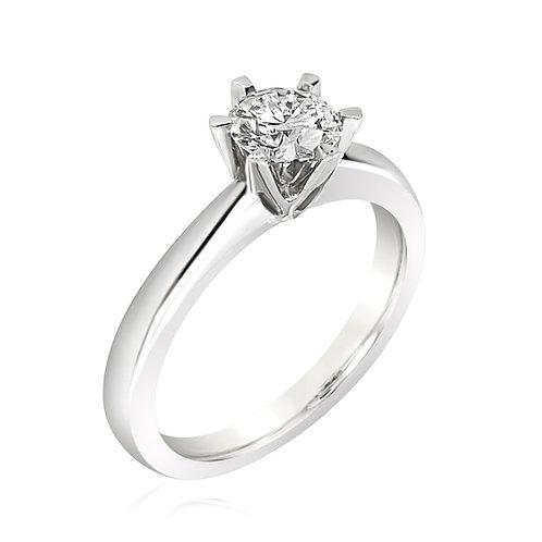 Moissanite Ring 0.5ct