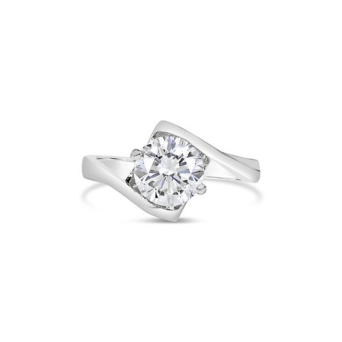 Moissanite Ring 1ct