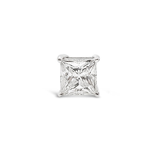 Moissanite earrings (single) (0.5ct-1.5cts)