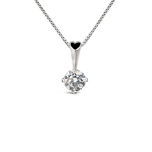 Moissanite Necklace (0.5ct)