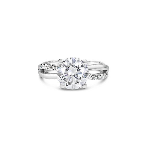 Moissanite Ring 1.6ctw