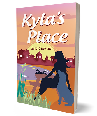 Book cover Kyla's Place Sue Curran Writes,  Middlesbrough writer