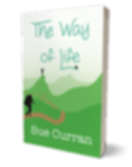 Book cover The Way of Life, Sue Curran writes, Middlesbrough Writer
