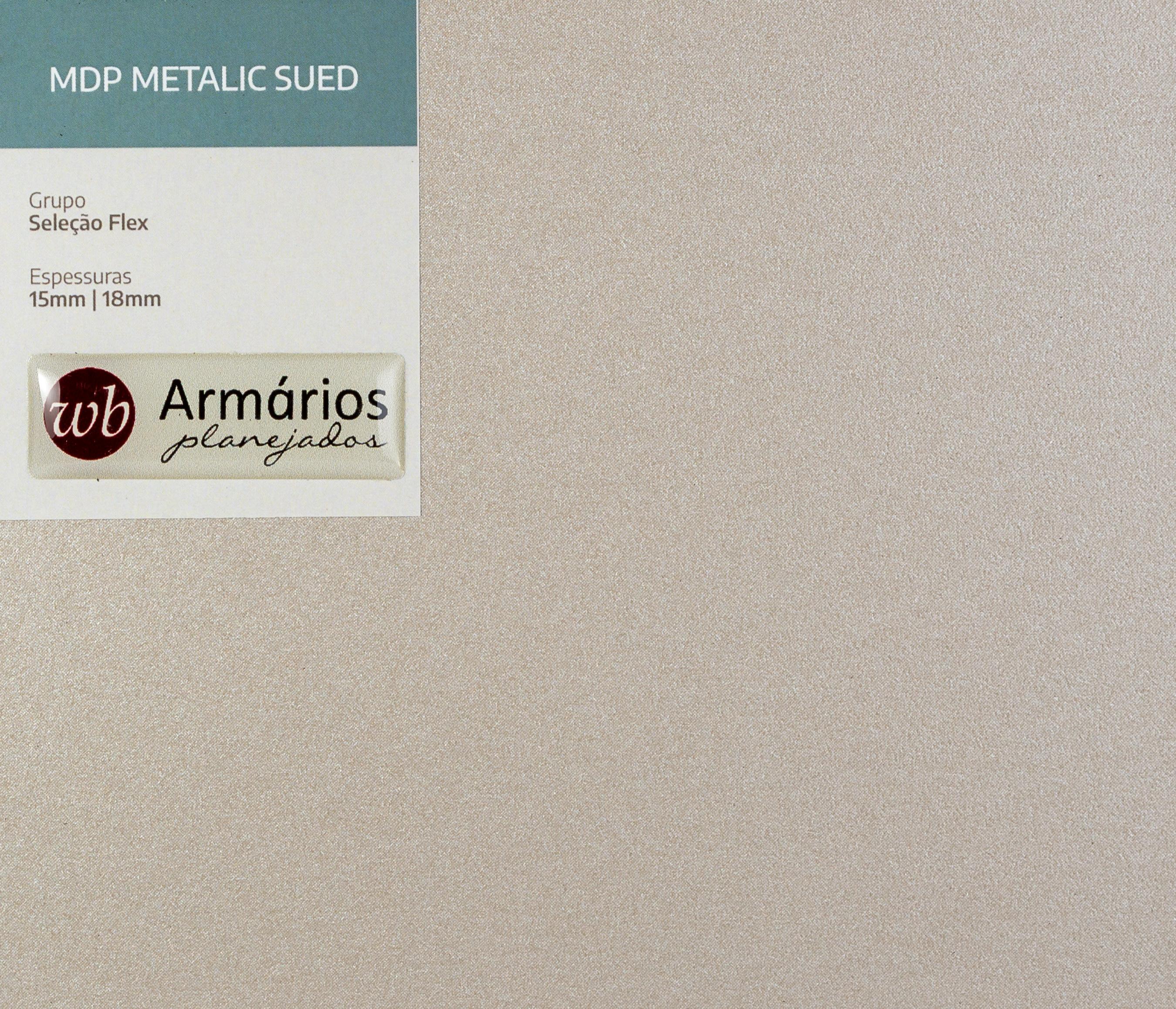 Metalic Sued