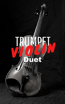 Trumpet Violin Duet