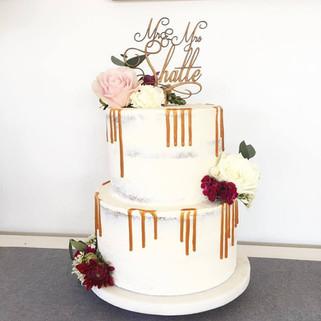 Little Gatherings Wedding Cake