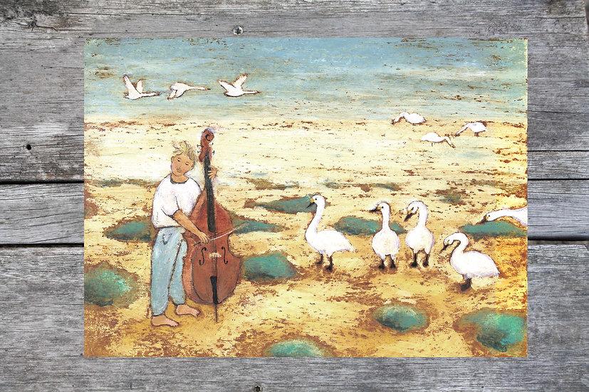 Swan man
