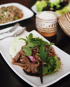 Grilled Beef Salad