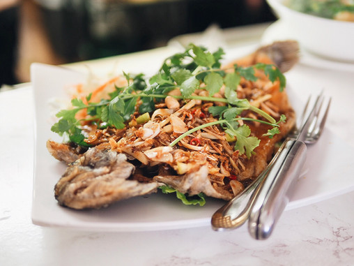 Crispy and Tasty Trout