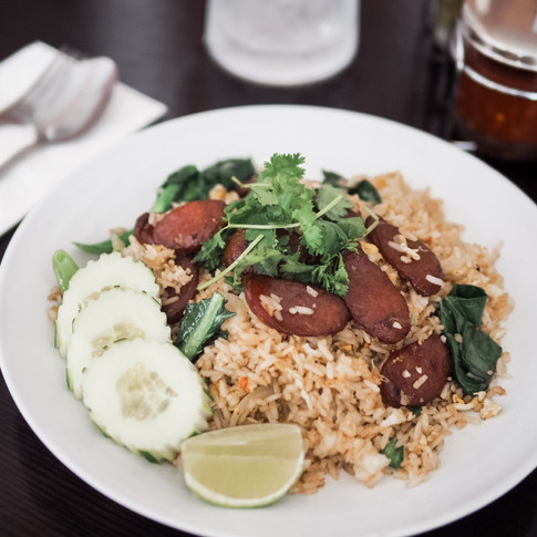 Sweet Fried Sausage Fried Rice
